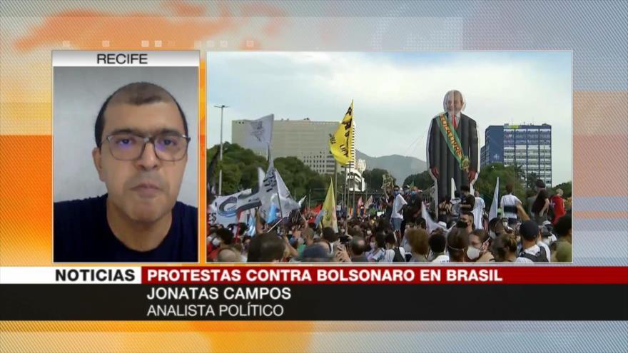 Campos: Bolsonaro es más peligroso que la COVID-19 para Brasil