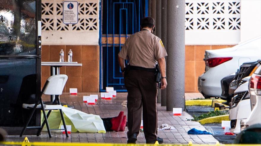 Video: Otro tiroteo deja 2 muertos y 20 heridos en sureste de EEUU   HISPANTV