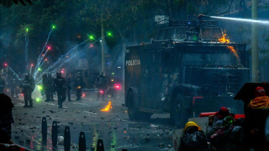 Piden arresto de Iván Duque por aplicar mano de hierro en Colombia | HISPANTV