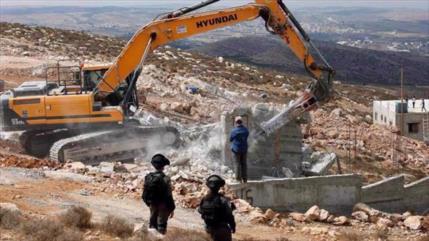 Israel demolerá 10 casas palestinas en Cisjordania con licencias