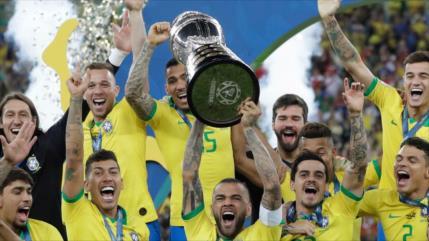 Argentina no será sede y la Copa América 2021 se jugará en Brasil
