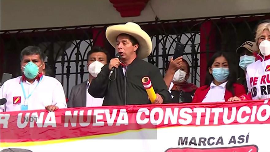 Candidatos presidenciales continúan sus campañas electorales en Perú