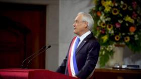 Piñera realiza última Cuenta Pública, cercado por masivas marchas