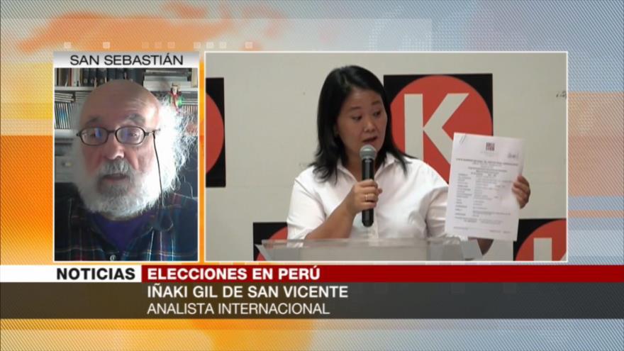Iñaki Gil explica qué defienden partidarios de Keiko ante Castillo