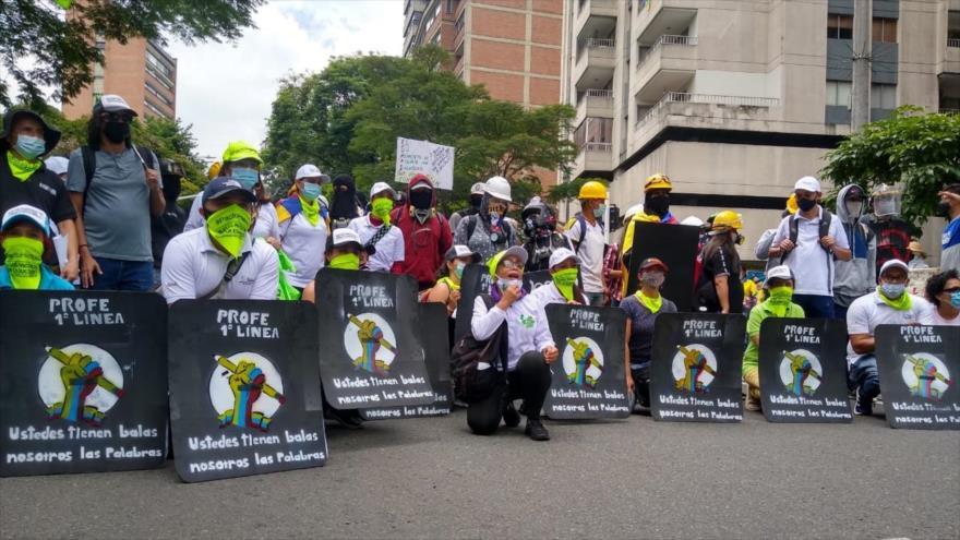 Vídeo: Siguen protestas en Colombia contra Iván Duque   HISPANTV
