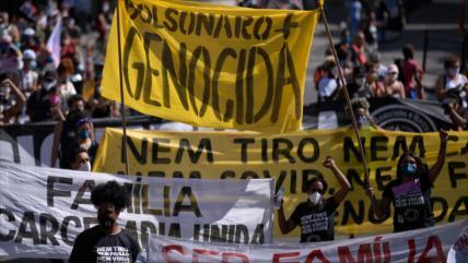 """Apartar a Bolsonaro del poder es cuestión de """"vida o muerte"""""""