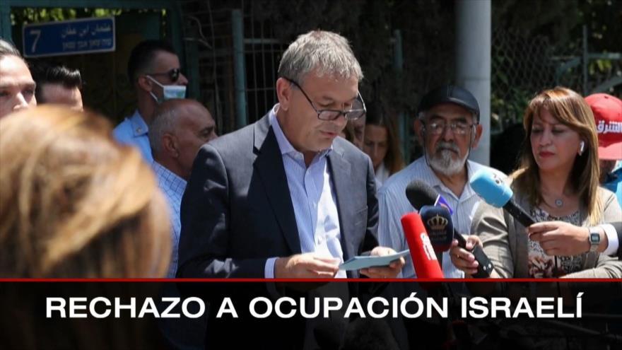 Rechazo a ocupación israelí. Diálogos inter-venezolanos. Protestas en Colombia - Boletín: 21:30 - 02/06/2021