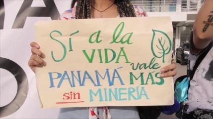 Siguen las protestas en rechazo a la minería metálica en Panamá