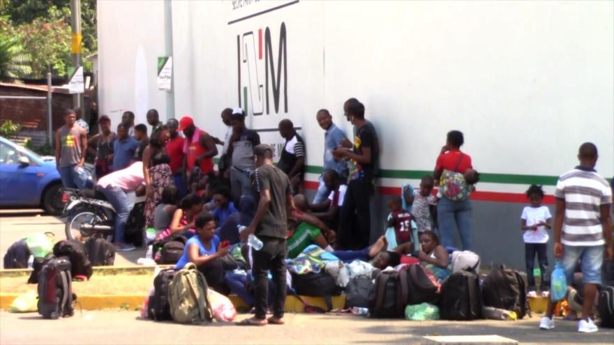 Nueva ola de migrantes llega a la ciudad mexicana de Tapachula