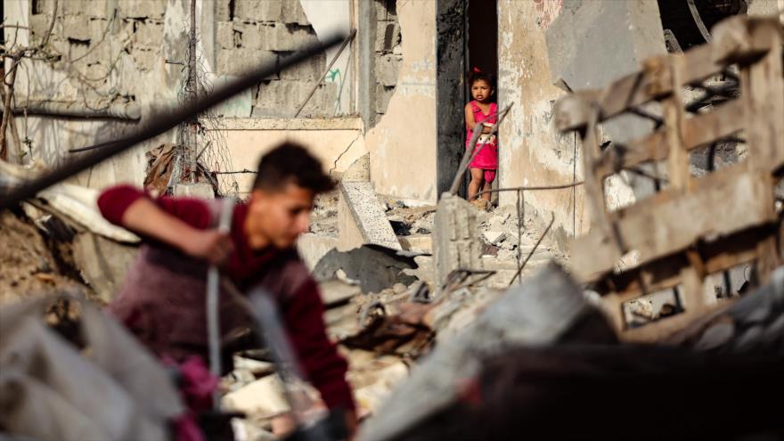 2000 familias palestinas a la intemperie tras ataques israelíes | HISPANTV