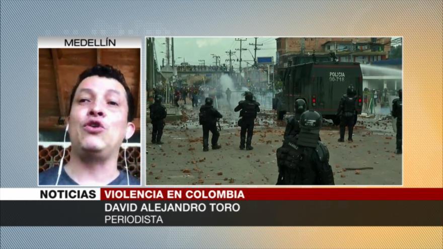 Toro: Pueblo colombiano prefiere salir a morir por sus demandas