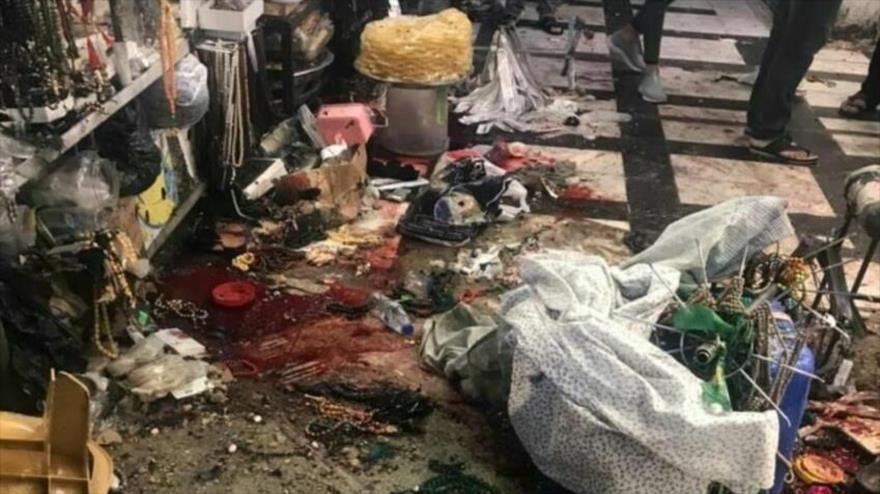 Una explosión en Irak deja 3 muertos y al menos 20 heridos.