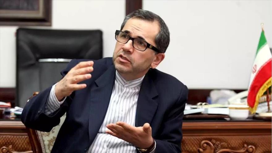 El representante permanente iraní ante la Organización de las Naciones Unidas (ONU), Mayid Tajt Ravanchi.