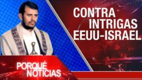 El Porqué de las Noticias: Discurso de al-Houthi. Violencia en Colombia. Elecciones en Chile