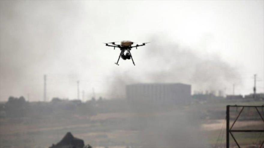 Combatientes palestinos derriban drones israelíes sobre Gaza | HISPANTV
