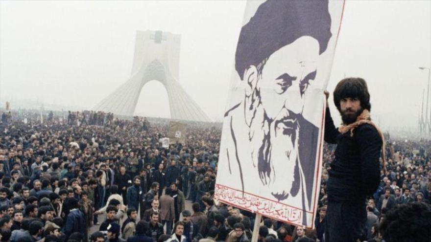 Los iraníes se manifestaron contra el entonces Shah de Irán, Mohamad Reza Pahlavi en Teherán, capital, 9 de octubre de 1978. (Foto: AP)