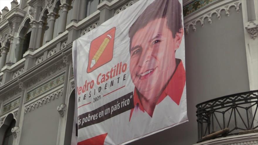 Castillo y Fujimori cierran sus campañas electorales en Perú | HISPANTV