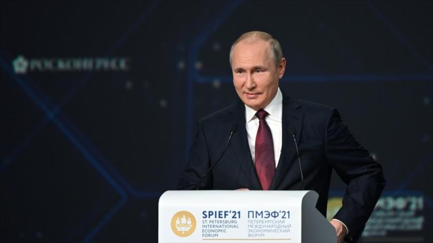 Putin denuncia: Toda la crispación proviene de EEUU | HISPANTV