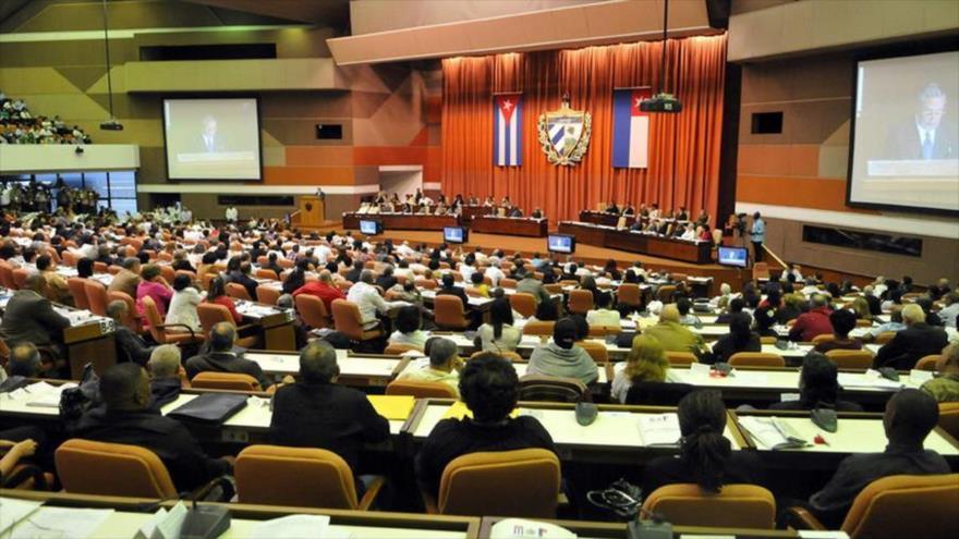 Una sesión de la Asamblea Nacional del Poder Popular de Cuba.