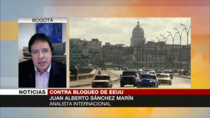 Sánchez Marín: Denuncias contra bloqueo a Cuba tendrán efecto