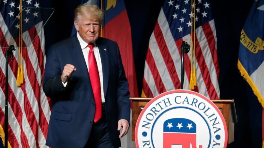 Trump promete recuperar la Casa Blanca antes de lo que se piensa