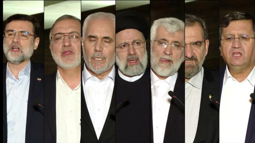 Primer debate de los candidatos a las presidenciales de Irán