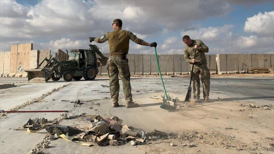 Drones desconocidos atacan base estadounidense Ain Al-Asad en Irak   HISPANTV