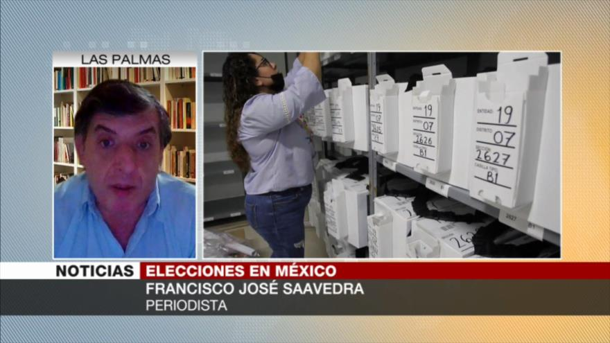 Saavedra: AMLO debe ganar mayoría en Congreso para poder gobernar   HISPANTV