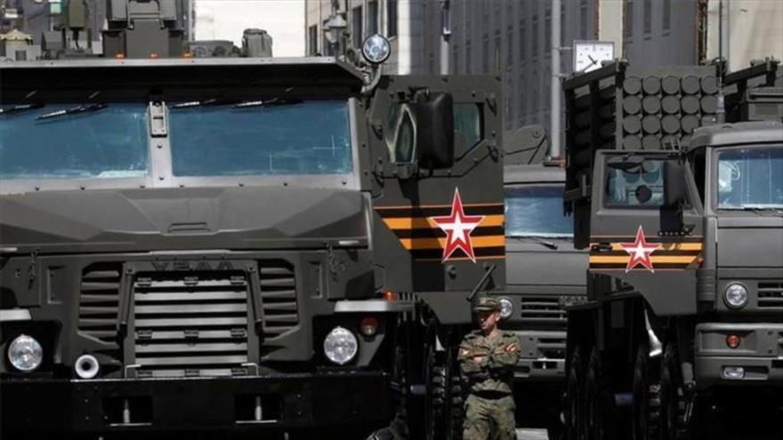 Rusia envió su nuevo lanzallamas pesado TOS-2 Tosochka a Siria   HISPANTV