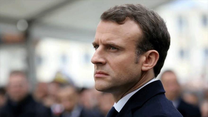Vídeo: Macron recibe un bofetón en su gira electoral por Francia