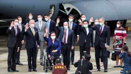 """Vil provocación"": China execra viaje de senadores de EEUU a Taiwán"