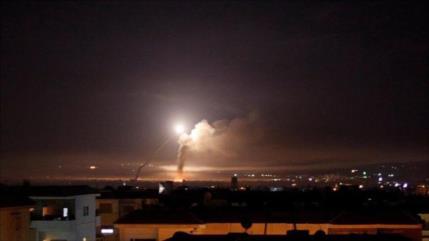Defensa aérea de Siria repele una agresión israelí a Damasco