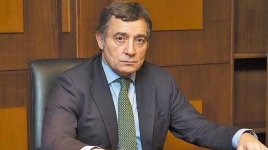 Fabián Pepín Rodríguez Simón, operador judicial del expresidente argentino Mauricio Macri (2015-2019).