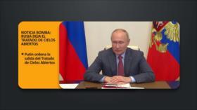 PoliMedios: Noticia bomba: Rusia deja Tratado de Cielos Abiertos