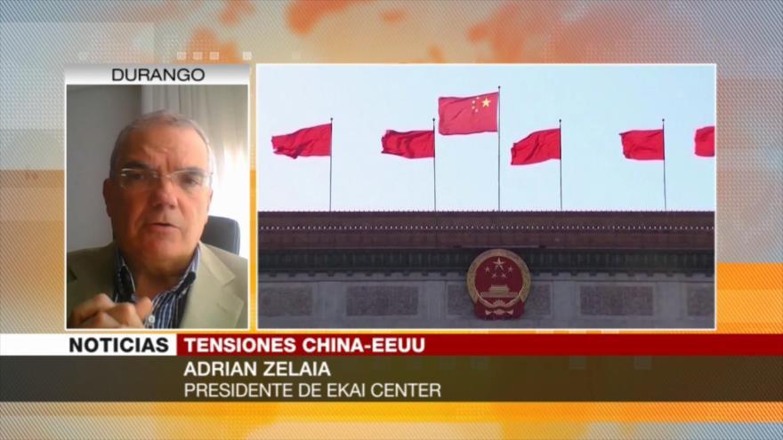 Zelaia: EEUU ataca la economía de China por sus desarrollos