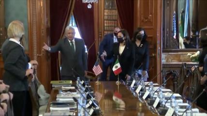 Kamala Harris termina visita a México con más promesas