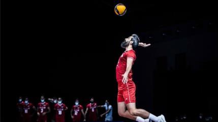 Irán vence 3-0 a EEUU en Liga de Naciones de Voleibol 2021