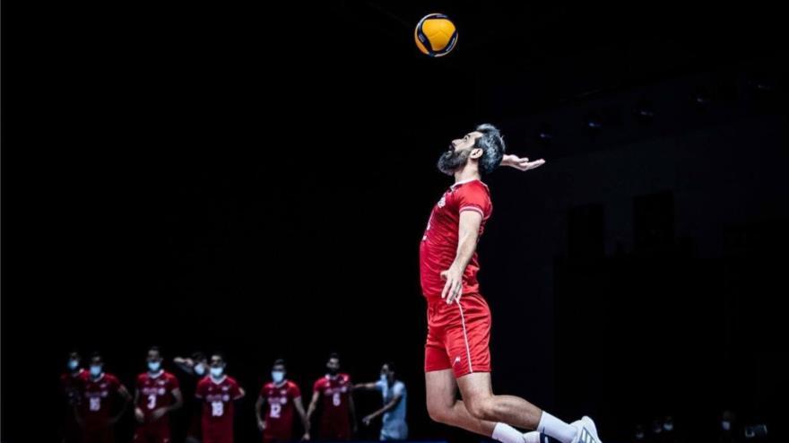 Irán vence 3-0 a EEUU en Liga de Naciones de Voleibol 2021 | HISPANTV