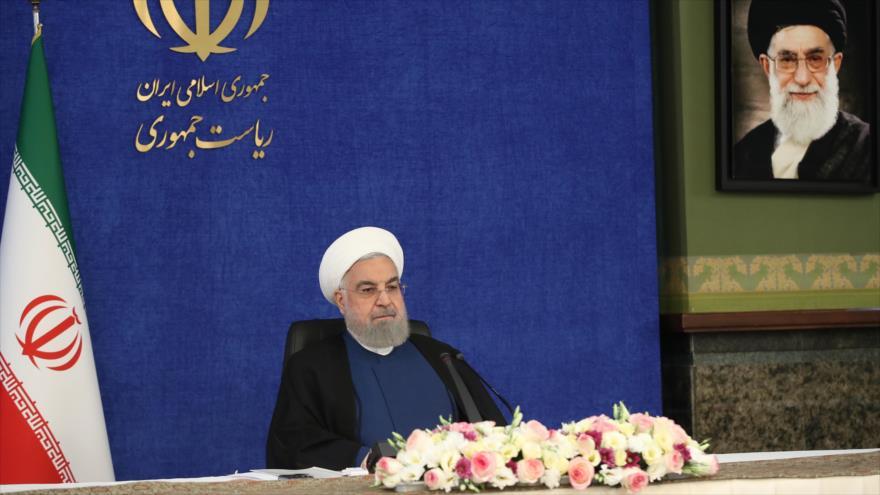 Rohani: Guerra económica no logrará frenar el avance de Irán