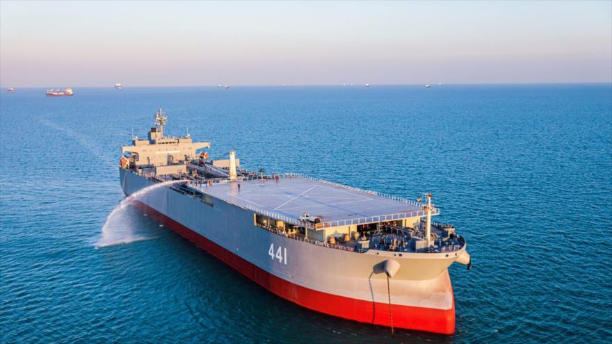 EEUU recurre a amenaza para frenar barcos iraníes rumbo a Latinoamérica