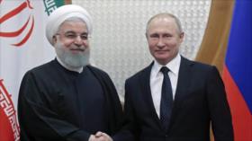 Irán ensalza lazos militares con Rusia para atajar desafíos globales