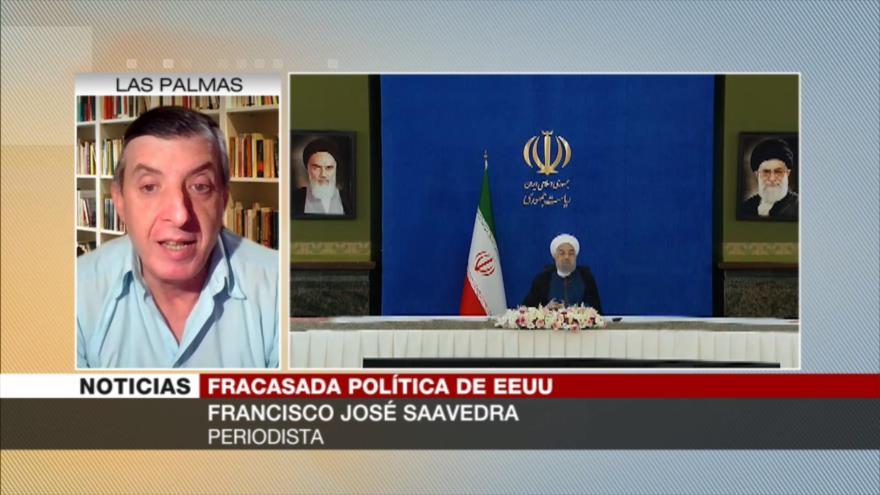 Saavedra: Sanciones de EEUU a Irán no le llevarán a ninguna parte