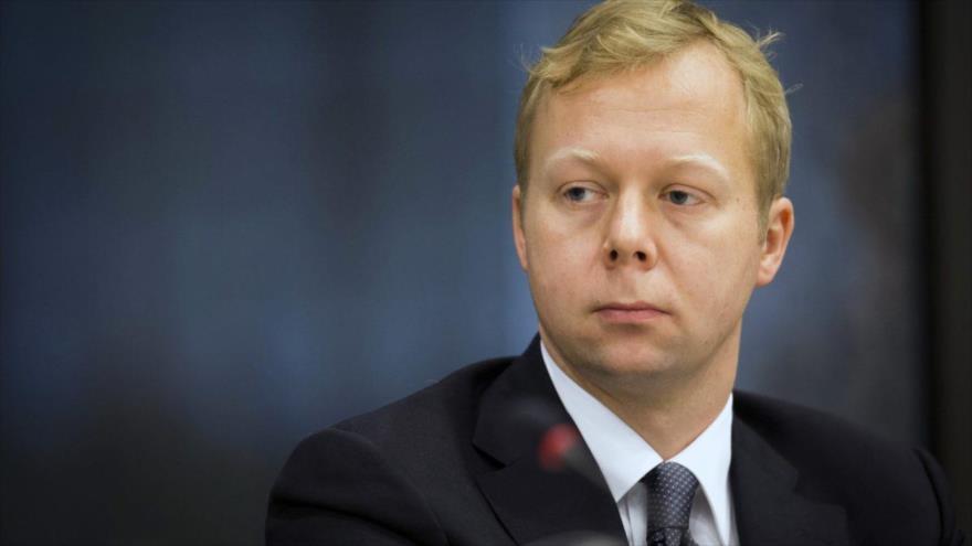 Sven Koopmans, nuevo enviado de la Unión Europea (UE) para el proceso de paz en Oriente Medio.