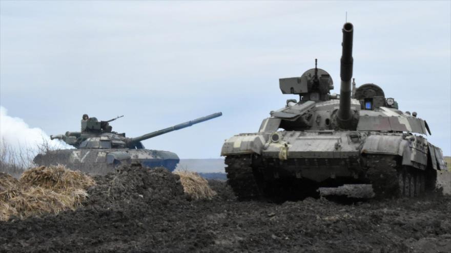 """Provocación armada directa"": Rusia execra ejercicios en Donbás   HISPANTV"