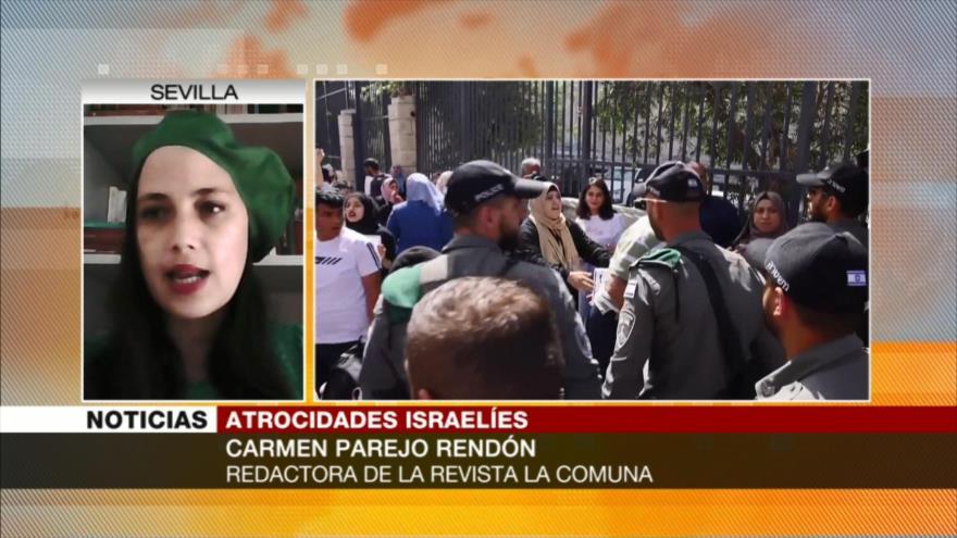 Parejo: Ahora Resistencia palestina es más fuerte que Israel