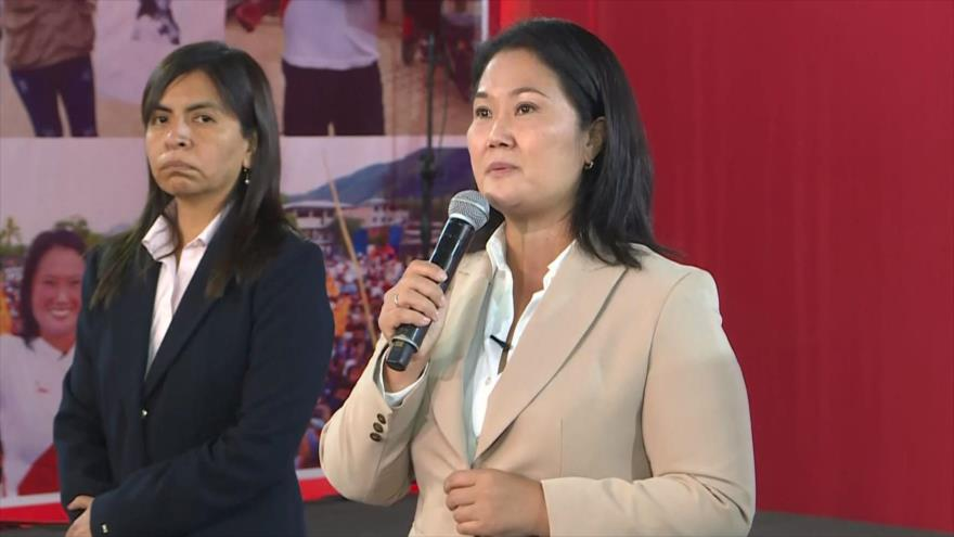 Fiscal de Perú pide prisión preventiva para candidata Fujimori