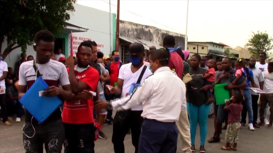 Frontera sur de México sufre descontrol ante llegada de migrantes