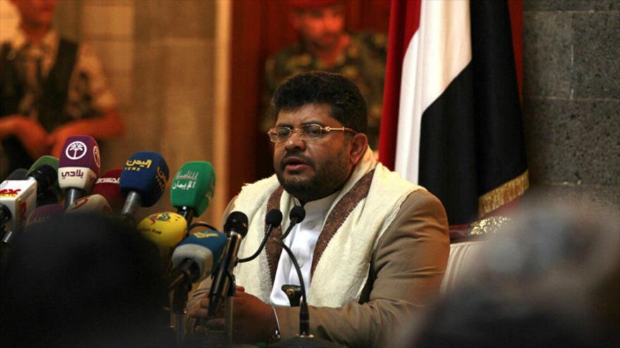 El presidente del Comité Supremo Revolucionario yemení, Muhamad Ali al-Houthi.