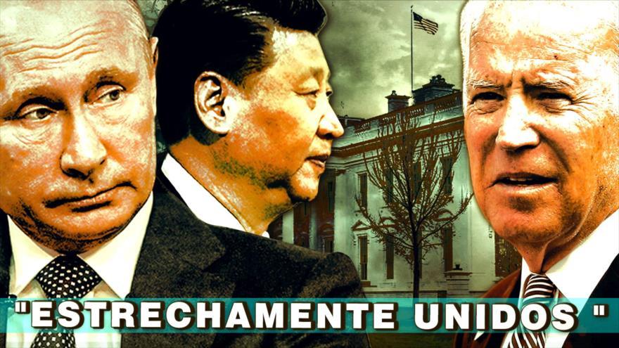 Detrás de la Razón: EEUU y Europa ¿Estrechamente unidos contra China y Rusia?