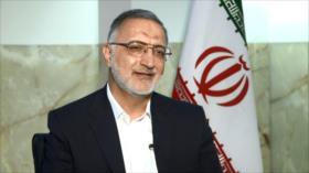 Candidato Zakani en exclusiva con IRIB aborda su política exterior
